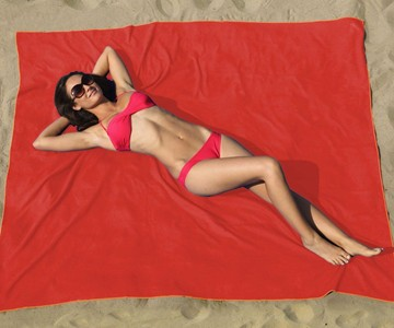 Oversized Microfiber Beach Blanket