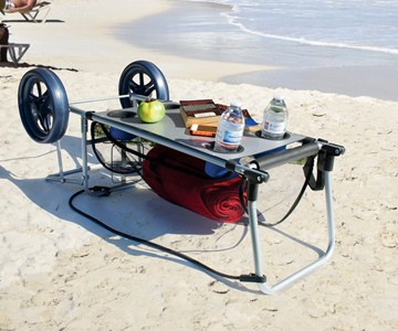 Rio Beach Wonder Cart - Beach Table Cart