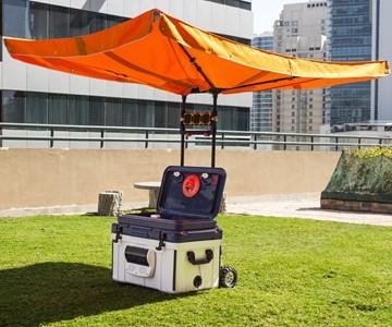 The SunDen Smart Rig & Cooler