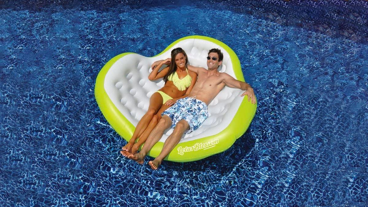 Swimline Lotus Blossom Double Comfort Lounge