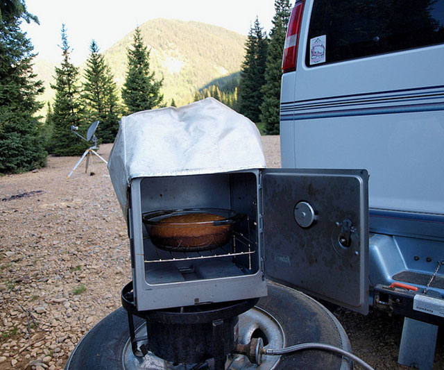 Rv Propane Stove >> Coleman Camp Oven   DudeIWantThat.com