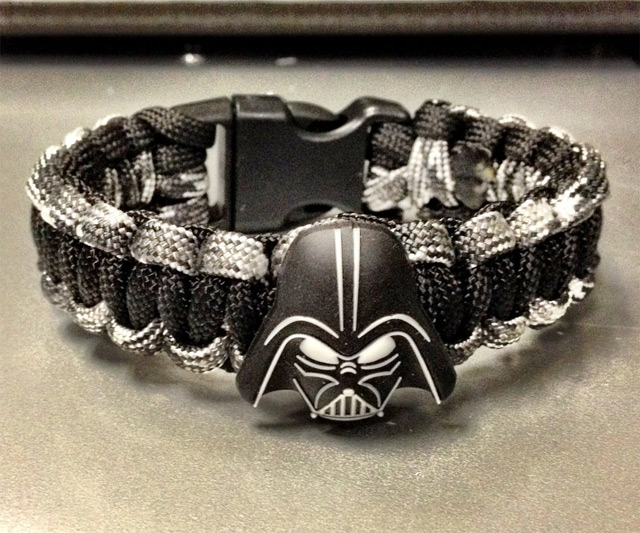 Darth Vader Paracord Bracelet
