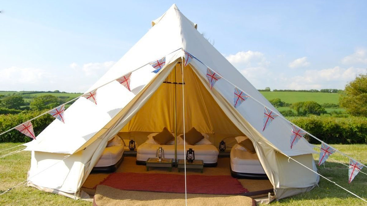 Dream House Portable Gl&ing Tents ... & Dream House Portable Glamping Tents | DudeIWantThat.com