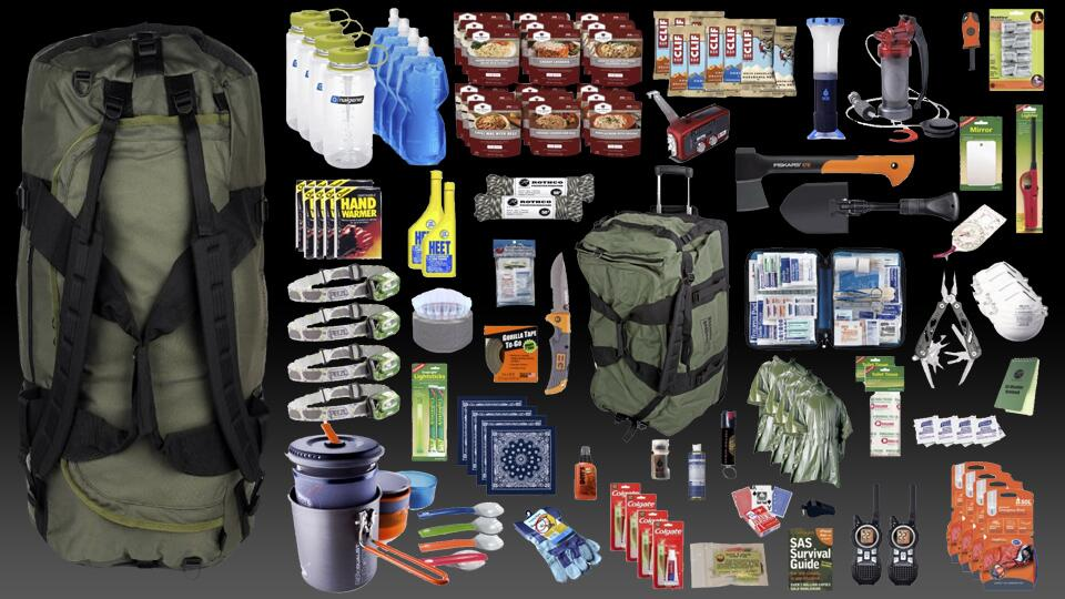 Family Bug Out Bag Dudeiwantthat