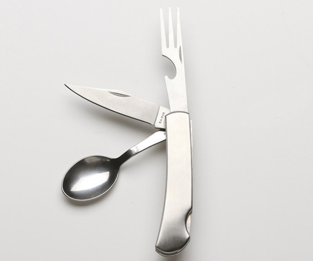 Hobo Knife - Foldable Utensils