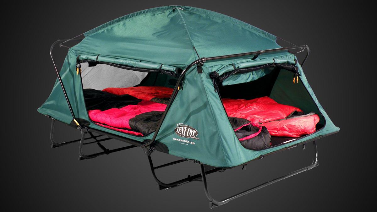 K&-Rite Double Tent Cot ... & Kamp-Rite Double Tent Cot | DudeIWantThat.com