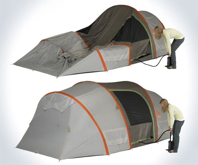 Kelty AirPitch - Inflatable Tent ... & Kelty AirPitch - Inflatable Tent | DudeIWantThat.com