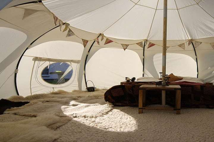 Lotus Belle Luxury Canvas Tents   DudeIWantThat.com