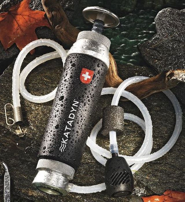 Pocket Water Microfilter