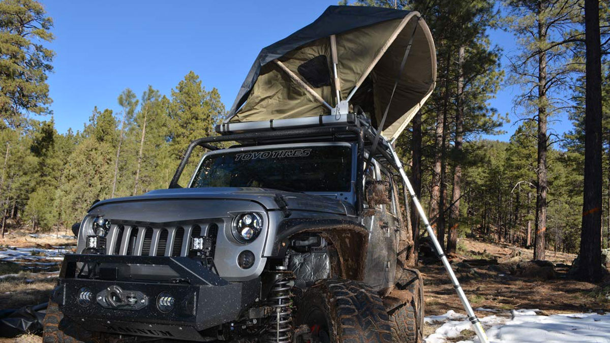 Raptor Series Jeep/Truck/SUV Rooftop Tent