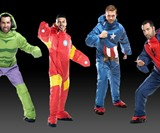 Marvel Superhero Wearable Sleeping Bags