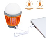 Mosquito-Zapping Camping Lantern