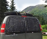 Skeeter Beater Magnetic Window Screens for Car Camping