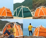 TentTube One-Minute Inflatable Tent