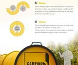 The Camping Doughnut