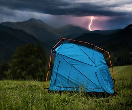 BOLT Lightning-Thwarting Tent