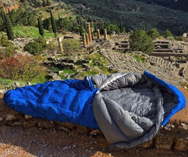 NoZipp Ultralight Zipperless Sleeping Bag