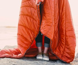 Rumpl Puffy Coat Blanket