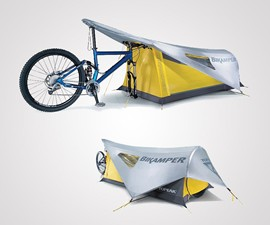 The One-Person Bike Tent