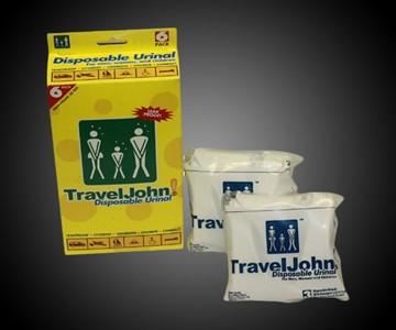 TravelJohn Disposable Personal Urinals