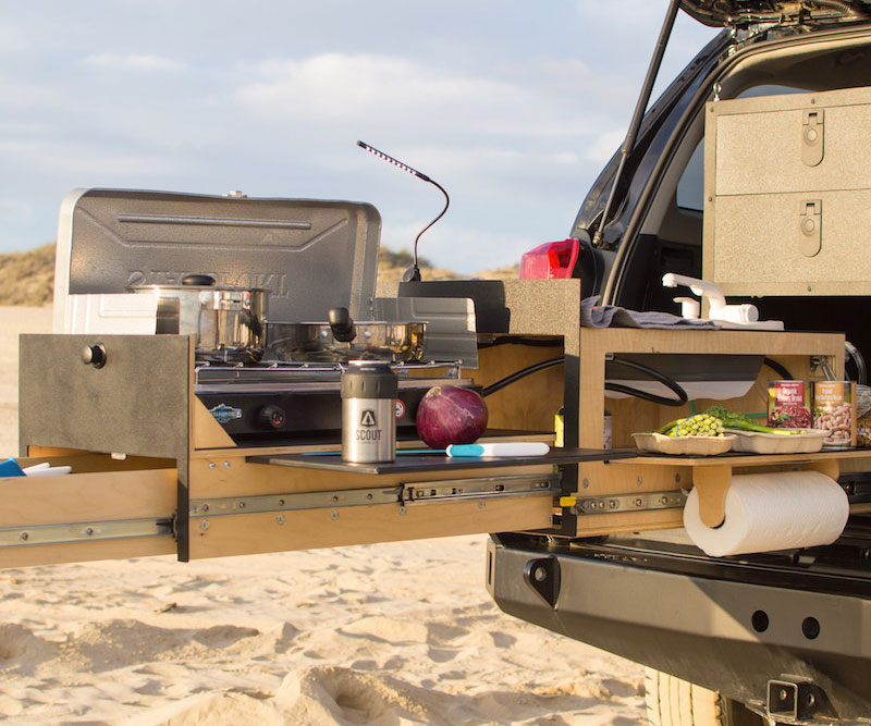 Scout overland kitchen for Kitchen setup