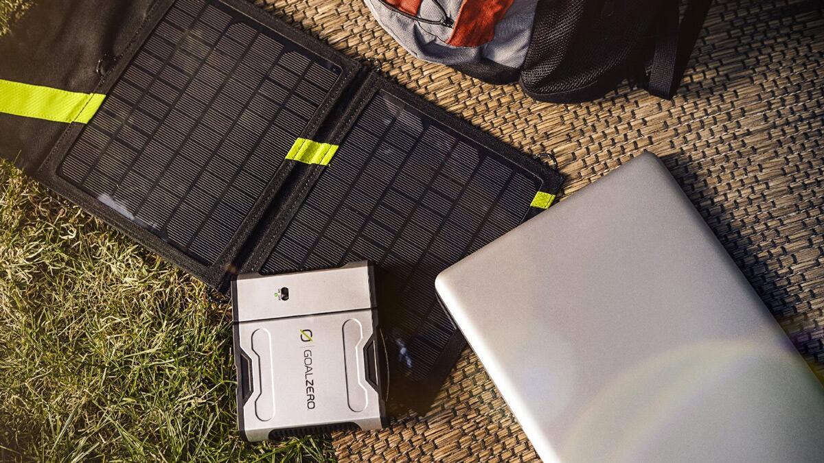 Solar Recharging Kit with Inverter