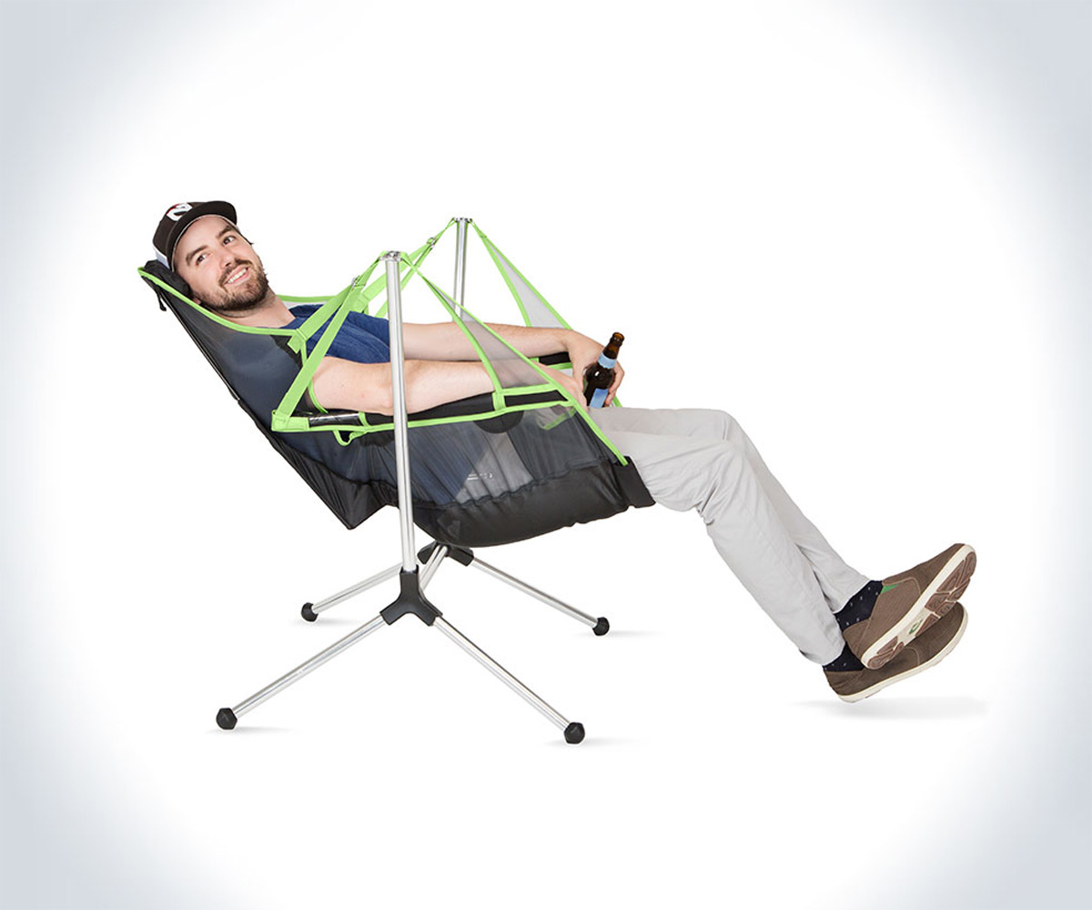 Stargaze Swinging Amp Reclining Camp Chair Dudeiwantthat Com