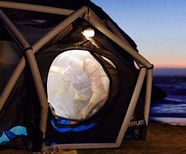 The Cave Inflatable Tent Dudeiwantthat Com