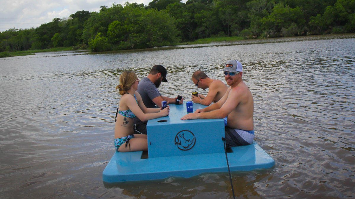 Floating Picnic Table Dudeiwantthat Com