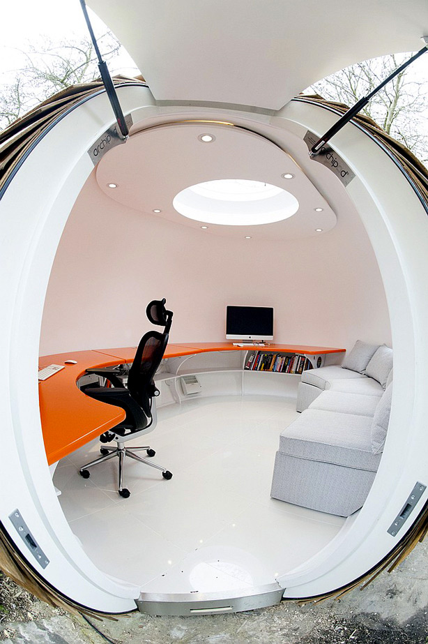 Car Giveaway 2017 >> Archipod Office Dome | DudeIWantThat.com