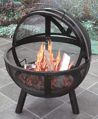 Ball Of Fire Outdoor Fireplace Dudeiwantthat Com