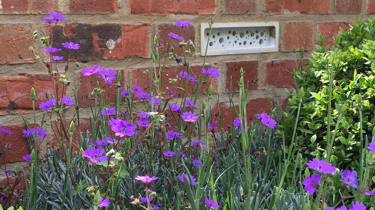 Bee Brick Bee Houses