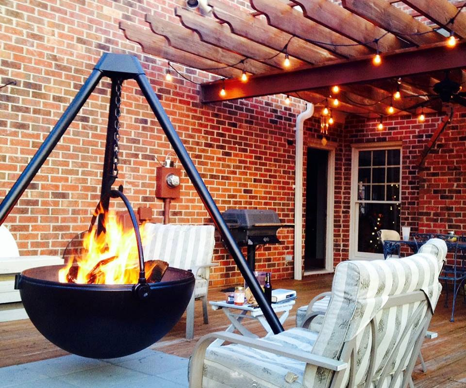 Cowboy Cauldron BBQ & Fire Pits | DudeIWantThat.com