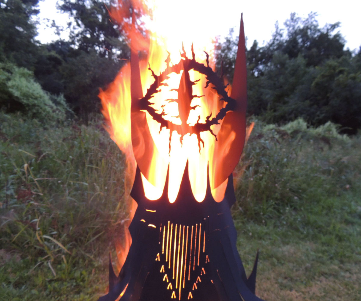 Eye Of Sauron Fire Pit Dudeiwantthat Com