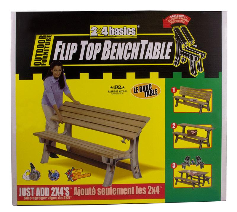 Flip Top Convertible Benchtable Kit Dudeiwantthat Com