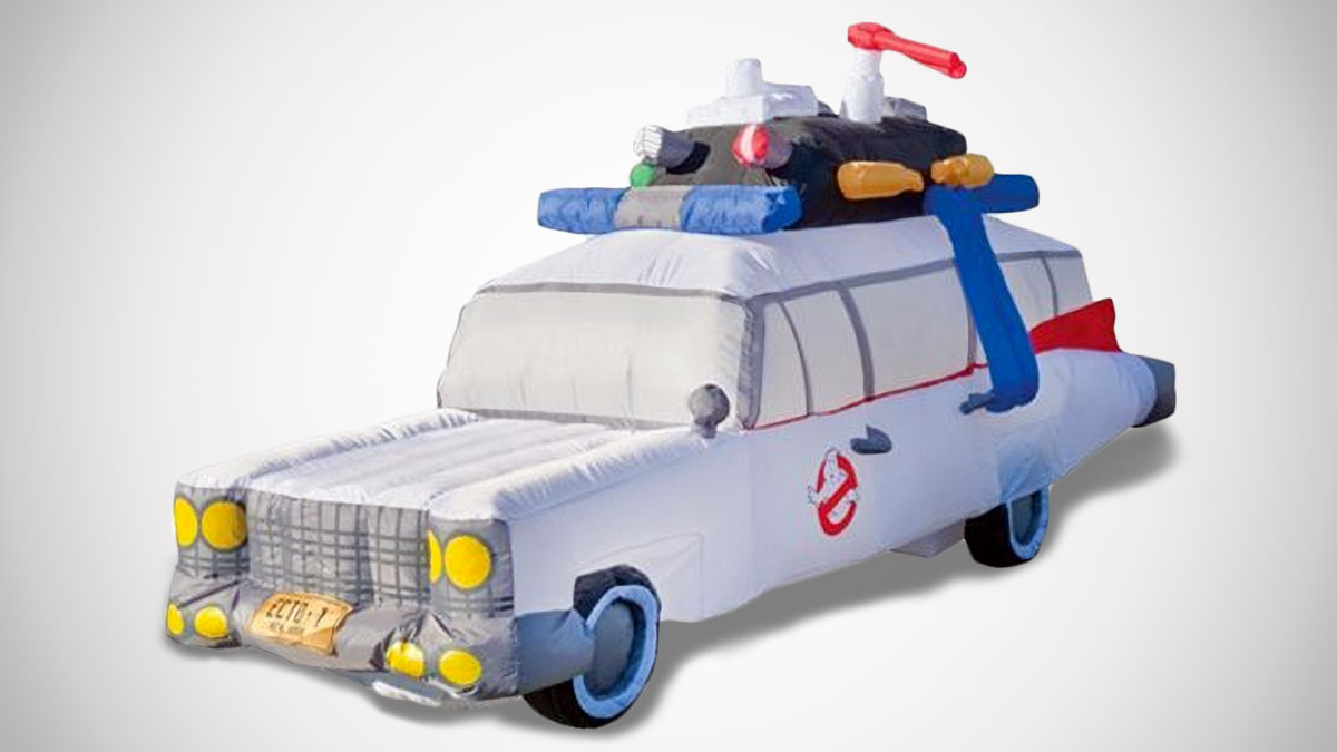 Ghostbusters Ecto-1 Vehicle Inflatable Yard Art