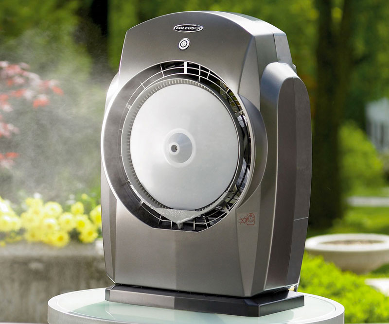 Humidibreeze Portable Misting System Dudeiwantthat Com