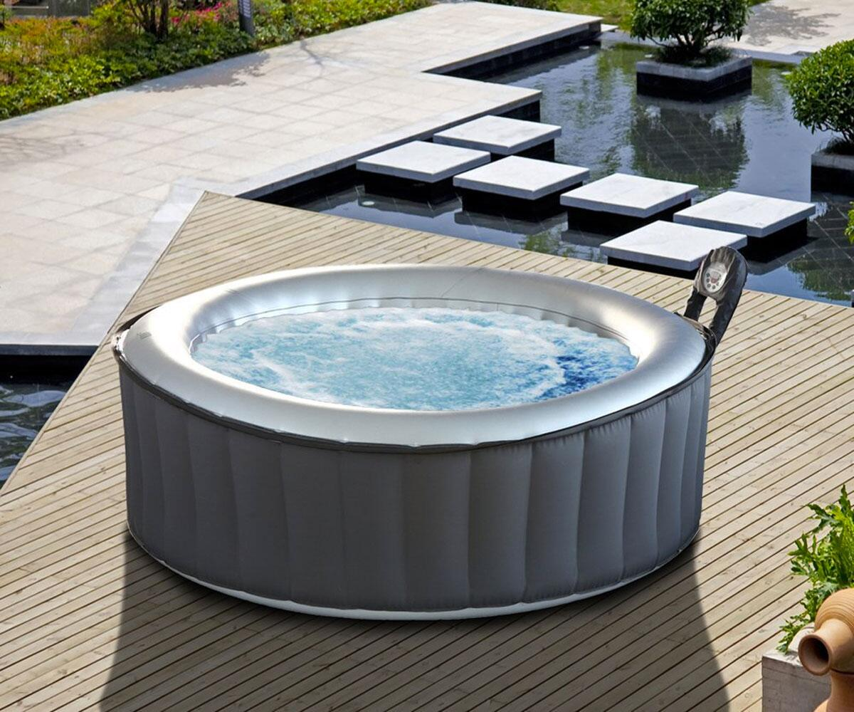 Inflatable Hot Tub | DudeIWantThat.com