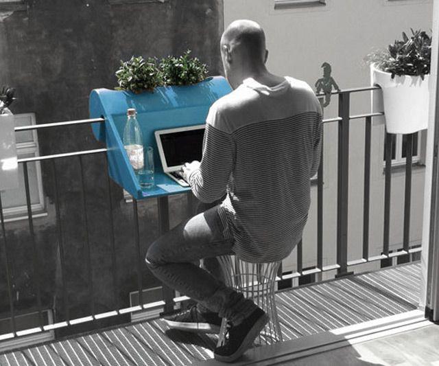 Instant Balcony Table; Instant Balcony Table ...