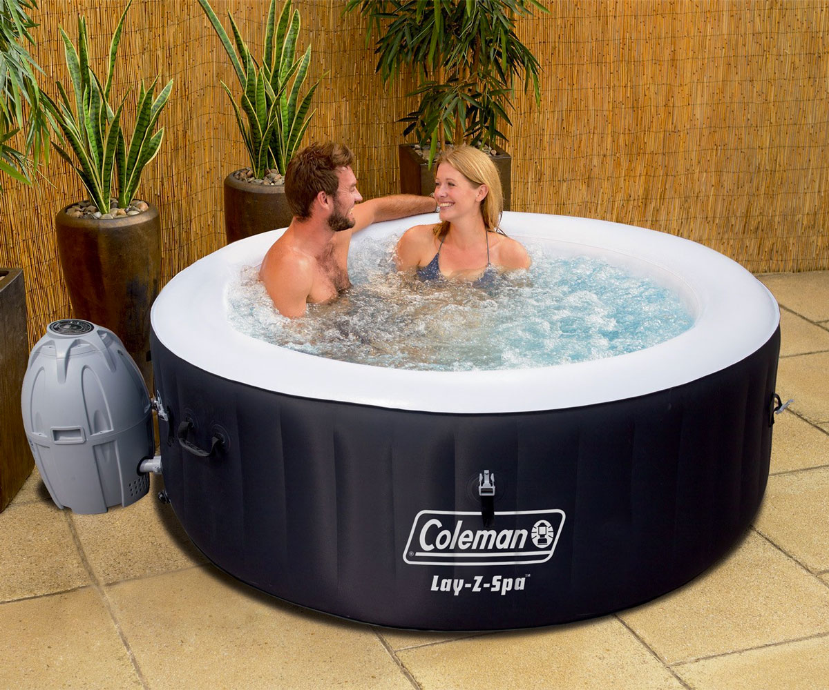 Lay Z Spa Miami 4 Person Inflatable Hot Tub
