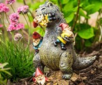 Gardenzilla - Rampaging Kaiju Garden Gnome