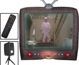 A Christmas Story 8' Living Projection Inflatable