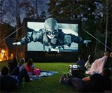 Backyard Theater System