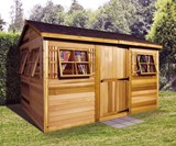 Beach House Garden Shed