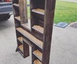 Giant Custom Cedar Letter Planter