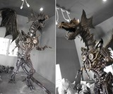 Giant Steampunk Dragon
