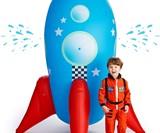 Inflatable Rocketship Sprinkler