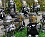 Knight Gnome Garden Statues