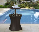 Outdoor Cooler Table