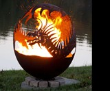 Pendragon's Hearth Dragon Fire Pit